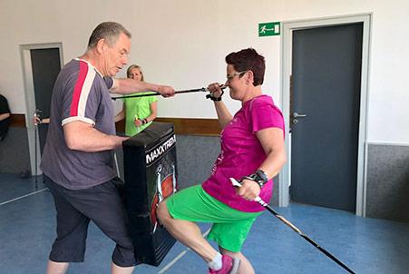 Selbstverteidigung Kurs in Böblingen mit Selbstverteidigungstrainer Markus Wolf aus Schönaich